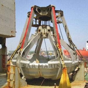 Electric-Hydraulic-4-Peel-Marine-Grab