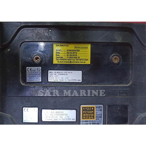 Riken-Keiki-GX-8000-Calibration