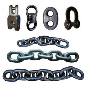 stud-link-anchor-chains-for-marine-with-kenter-shackle-and-mooring-chain